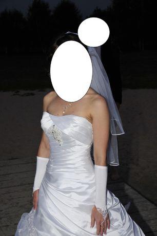 suknia ślubna Herms rozmiar 36