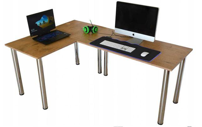 Biurko komputerowe/stolik narożny - prawostronny