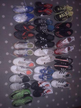 piłkarskie buty dziecięce różne rozmiary adidas nike umbro