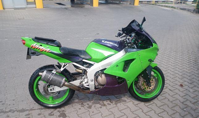 Kawasaki zx6r 600