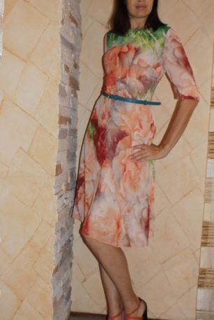 Нарядное шифоновое платье Maurini, р-р М, 46