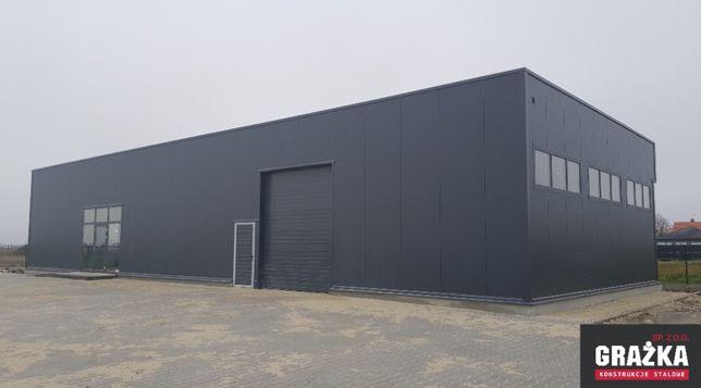 Hala magazyn budynek z płyty warstwowej 11x30x5m