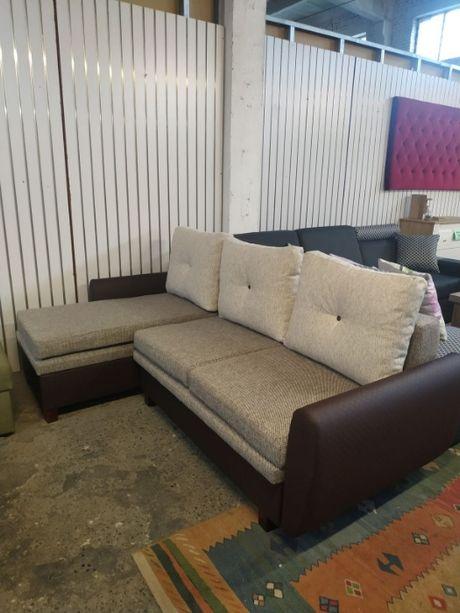 NOWY narożnik/łóżko/sofa ADEL. Rozkładany, pojemnik, dwuosobowy.