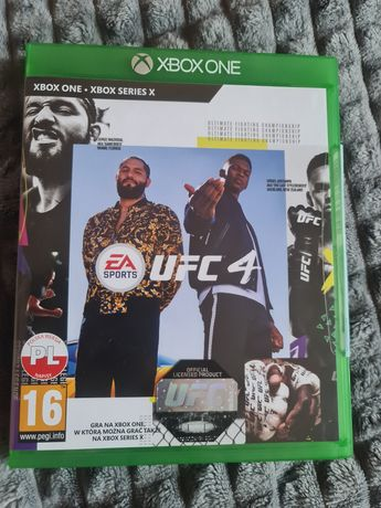 Gra UFC 4 na xbox one i series X/S