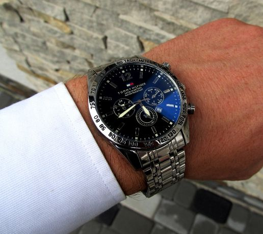 ЖИВЫЕ ФОТО! Супермодные кварцевые мужские часы Лучший подарок