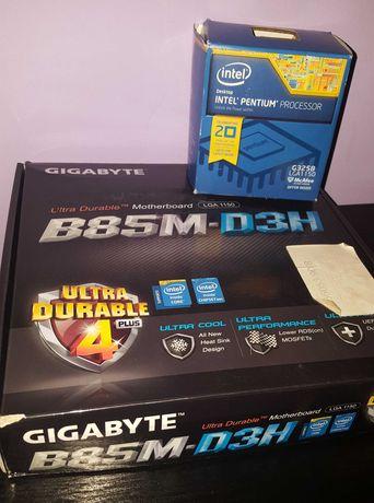 GIGABYTE B85-D3H / RAM 8GB / Pentium G3258 Odblokowany