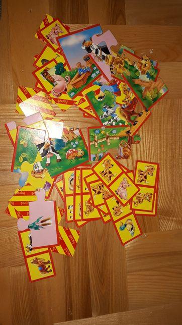 Puzzle układanki domino Bączek