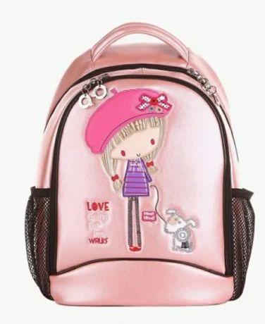 Портфель (рюкзак, ранец) школьный для девочек Alba Soboni