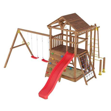 Детская площадка от ПРОИЗВОДИТЕЛЯ! Игровой комплекс Горка Качеля Домик