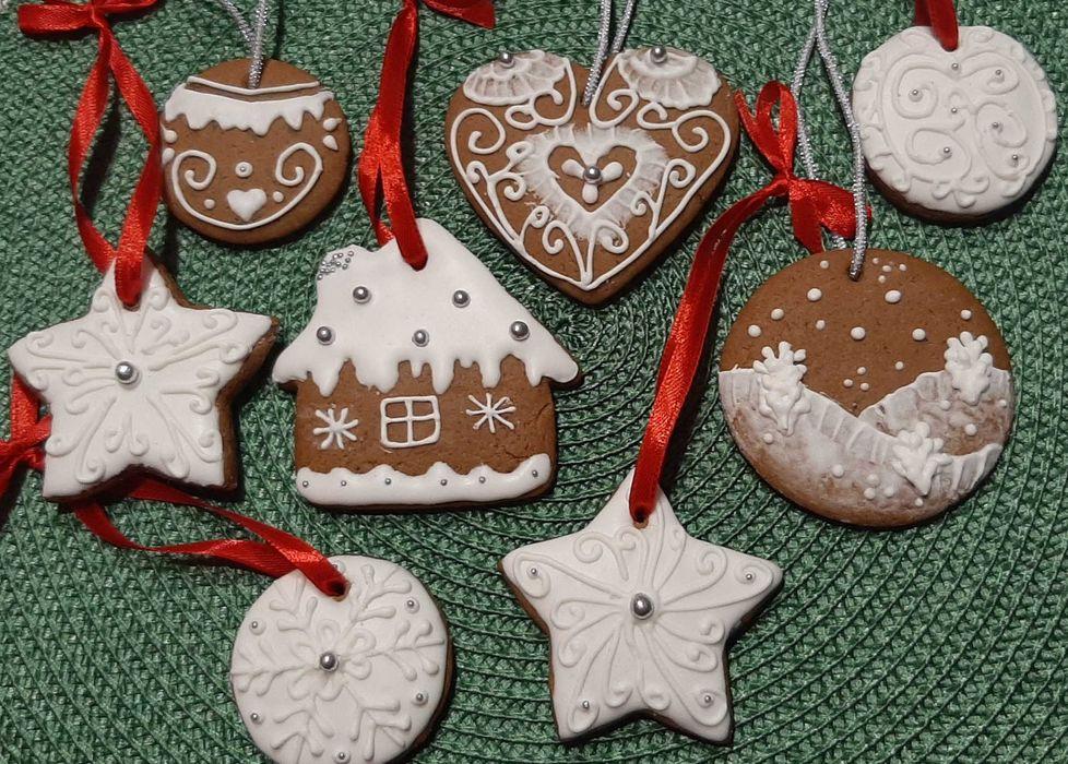 Pierniczki ręcznie malowane na choinkę Ząbkowice Śląskie - image 1