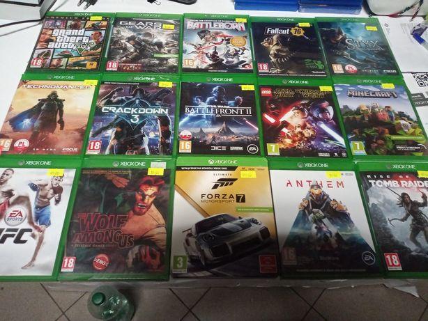 Gry Xbox one,one s,one x