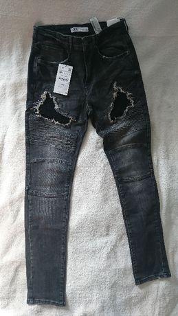 Jeansy, spodnie, dżinsy ZARA Man 38