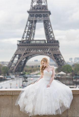 Свадебное платье от дизайнера Оксана Муха