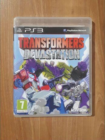 Gra dla dzieci na konsolę PlayStation3 (ps3), Transformers devastation