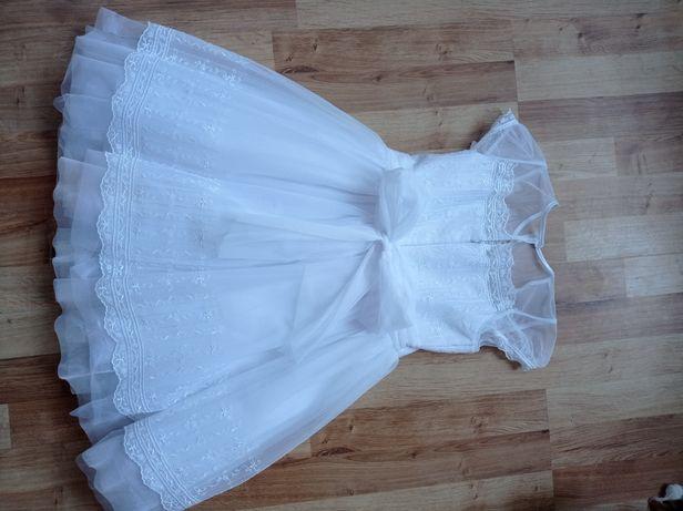 Biała sukienka SLY 128