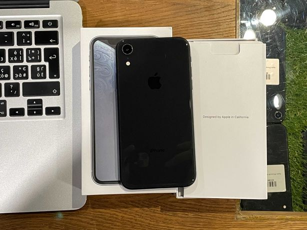 Идеальный iPhone Xr 64gb Black/Рассрочка/Гарантия 3 мес от магазина