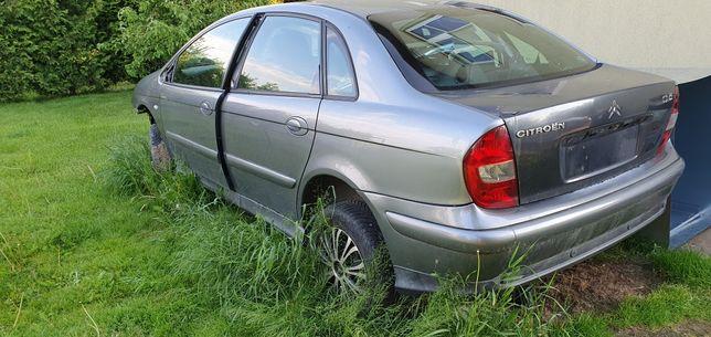 Zderzak tył czujniki parkowania drzwi lampy citroen c5 2002  eytc