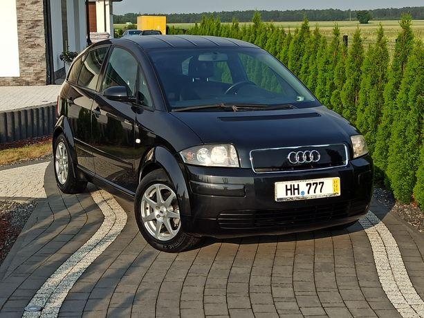 Audi A2  1.4 16v Benzyna Klimatronic Alufelgi Sprowadzona Opłacona