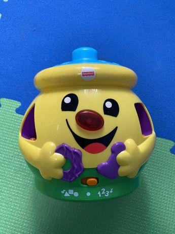 Горшок /игрушка/ развивающая игрушка Fisher price