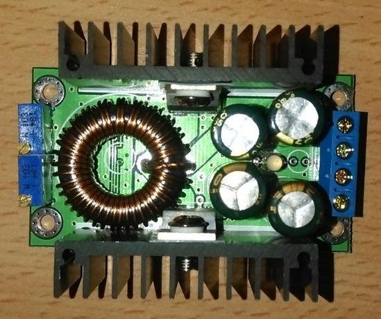 DC-DC регулируемый преобразователь с регулировкой напряжения и тока