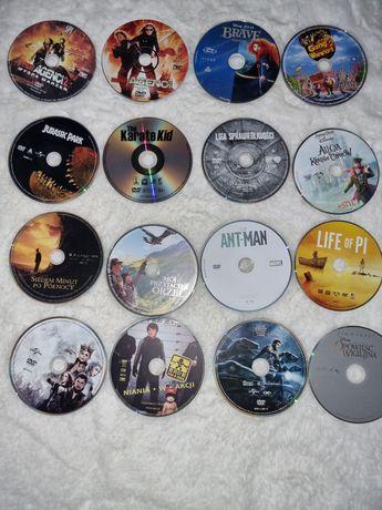 Bajki, filmy dla dzieci, zestaw 16 płytt