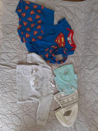 Ubranka dla chłopca od 0 - 12 m-ca