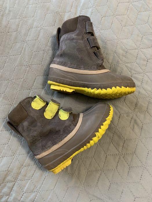 Зимние сапоги непромокаемые, ботинки на мальчика Ecco, Sorel, Geox Одесса - изображение 1