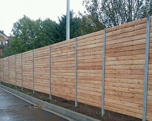 ogrodzenie drewniane deski na płot panelowe 240cm