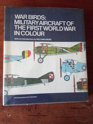 """Книга """"War Birds"""" (вінтаж, Англія 1974)"""
