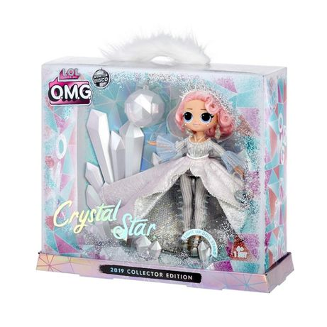 LOL Surprise OMG Winter Disco Леди Кристалл лол омг Crystal Star диско