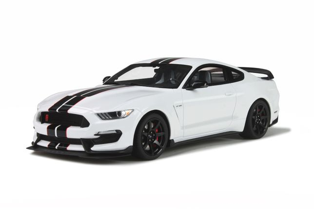Ford Mustang Shelby GT350R branco GT Spirit Escala 1:18