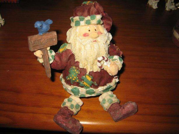 Pai Natal sentado, anos 90(c/Novo)