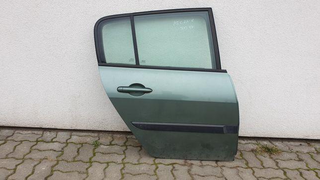 Renault Megane hb 5d drzwi tylne prawe prawy tył kompletne TED97