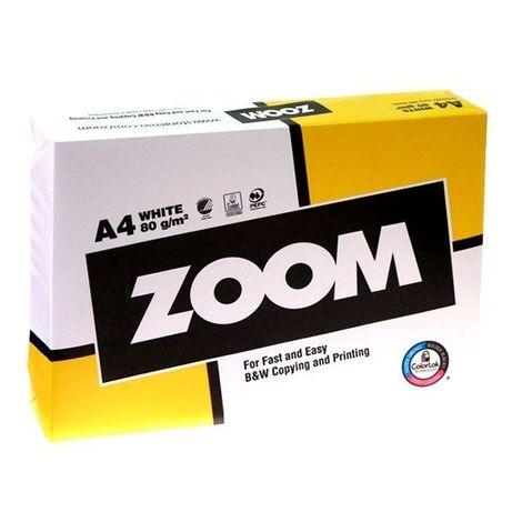 Бумага офисная ZOOM А4 80г, 500л