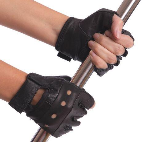 Шкіряні фітнес перчатки