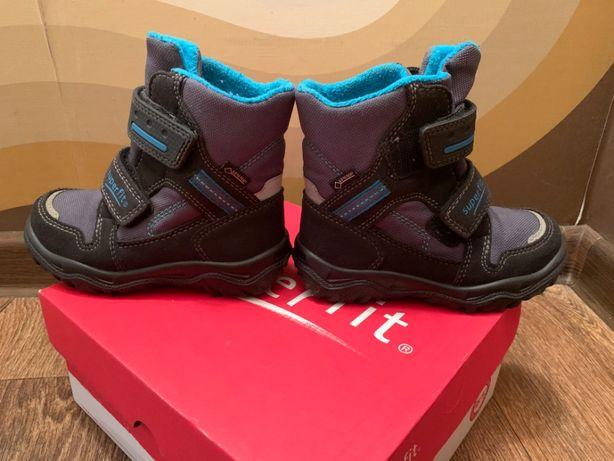 Детские зимние ботинки SuperFit 24р(отличное состояние!)