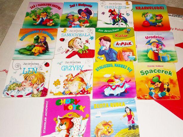 Zestaw książek dla najmłodszych dzieci. Krasnoludki,Leń i inne