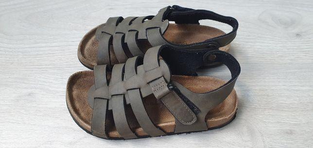 Skórzane sandały 32, 19cm