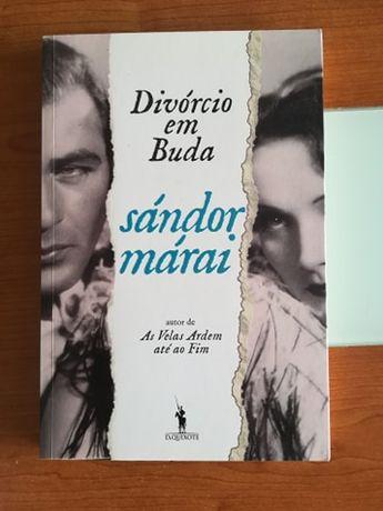 Livro Divórcio em Buda (nunca usado)
