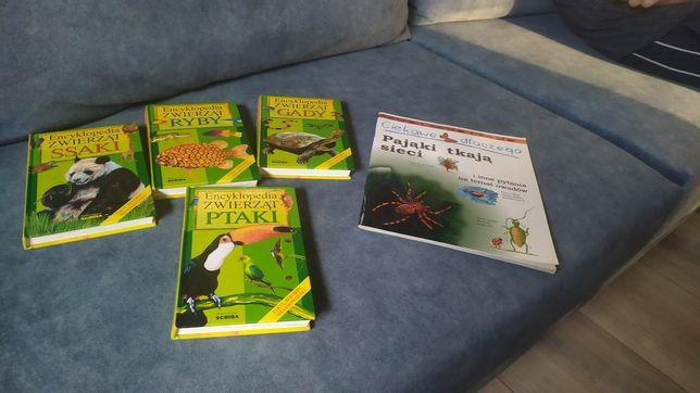 Zestaw książek przyrodniczych
