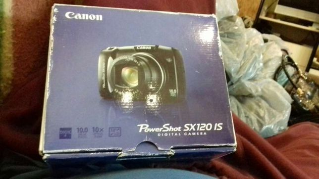Продам фотоаппарат Canon Power Shot SX 120 IS