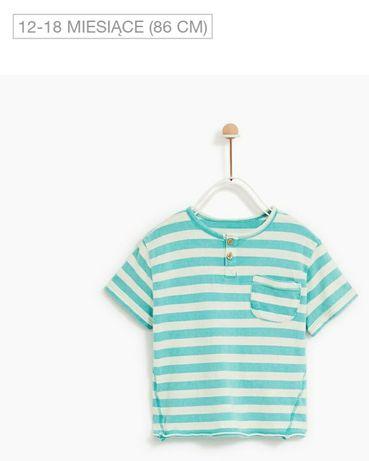 T-shirt koszulka ZARA nowa r. 86