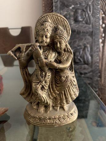 Estatua radha krishna