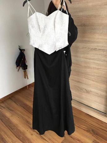 Sukienka studniówka bal sylwester wesele półmetek
