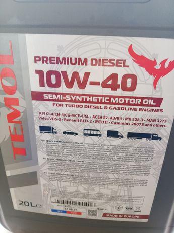 Масло 10w40 premium diesel