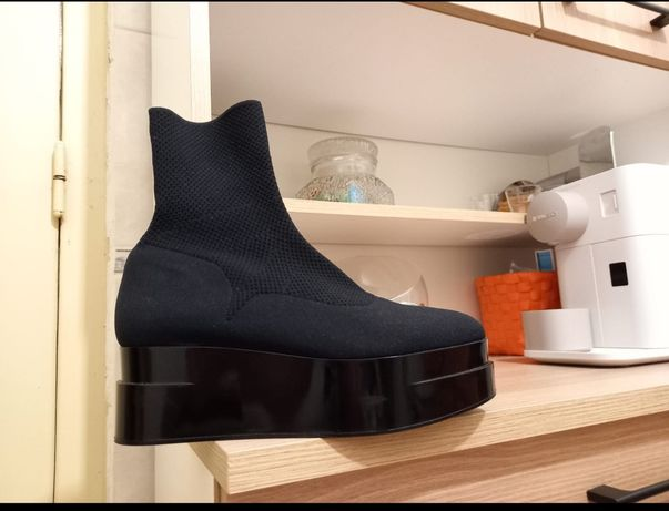 Botas meia preta
