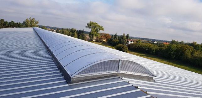 świetliki dachowe, pasma świetlne, modernizacje świetlików, rozbiórka