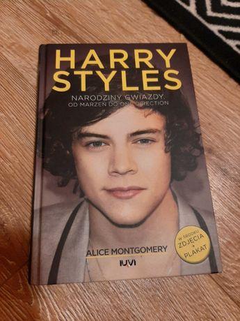 """Książka """"Harry Styles - narodziny gwiazdy"""" z 2013 roku"""
