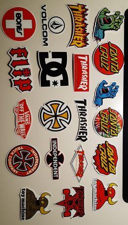 Autocolantes stickers Vans, Supreme, Santa Cruz, Bape, Motos, Carros
