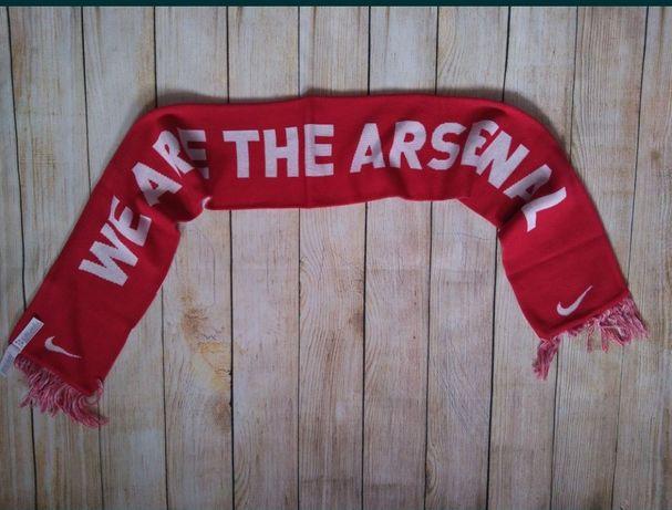 Шарф футбольный Arsenal London nike Роза Арсенал